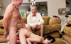 Super skinny old and kinky young Frannkie goes down the Hers