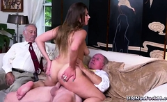 Old daddy fucks crony' friend's daughter first time Ivy impr