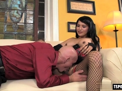 Hot Shemale Anal Sex And Cumshot