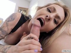 Natasha Starr Lets Stepson Feels The Back Of Her Throat