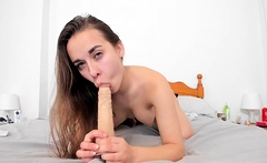 Perfectly Teen Playing With Herself
