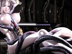Hot Hentai Schoolgirl Sucking Cock
