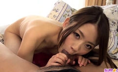 Supreme oral pleasures for Mayuka - More at Slurpjp.com