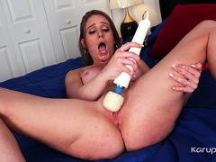 We Find The Sexy Coed Daisy Stone Alone In Her Bedroom And