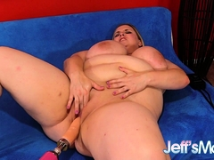 Plumper Nikky Wilder Plowed By A Machine