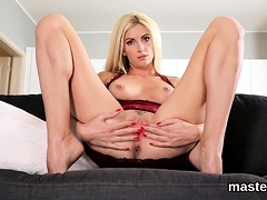 Feisty Czech Chick Stretches Her Juicy Twat To The Extreme65