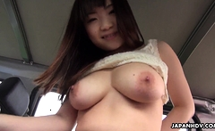 Japanese Mikoto Mochida likes to have car sex uncensored