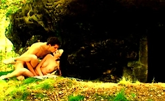 There's no place more natural to have sex, then outdoors