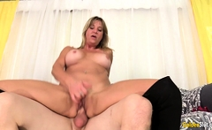 Wild Sex with Mature Blonde Sky Haven