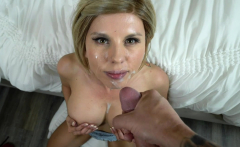 PervMom - Cougar Stepmom Bounces On A Big Cock