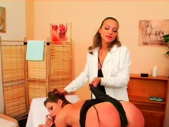 Mistresse Humiliates Man During Lewd Femdom Fetish Act