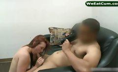 Pornstar Cassandra Nix sucks off