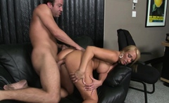 Sophisticated Mom Mellanie Monroe Fucked In Her Office