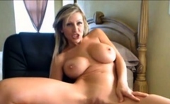 MIlf Blonde Webcam Dildo