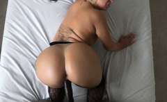 Lubed Up PAWG Takes A BBC