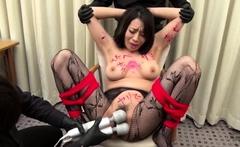 Bdsm bondage lezdom bitch toying