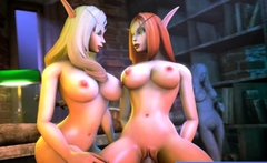 3d Sluts Is Used As A Sex Slaves