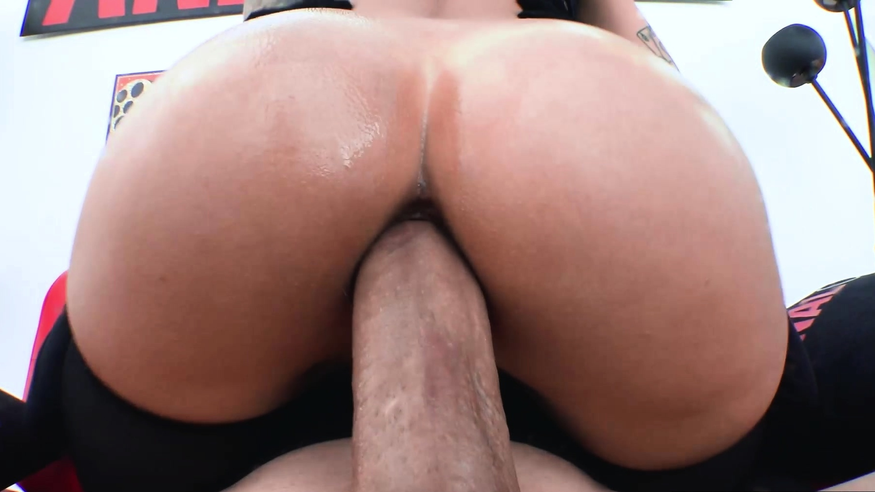 Anal Only Buttfucking Fun With Busty April Olsen