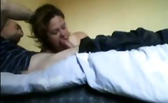 My Wife Tessa 36 sucking and fucking in the morning